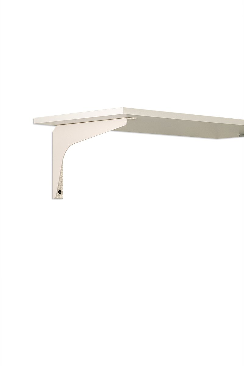 SWS4A-95 (White)) Mockett Shelves Shelf Brackets Decorative Shelf Supports Countertop Supports