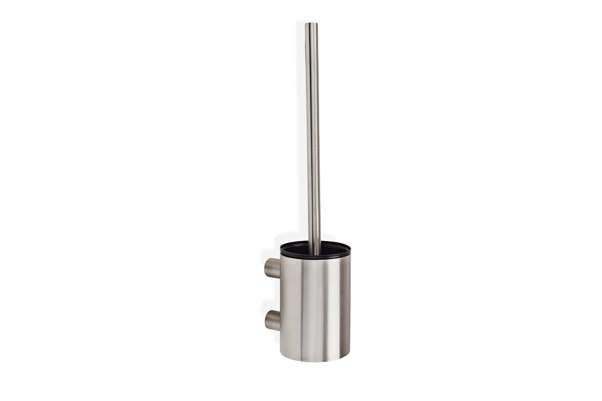 TBR1-SSS (Satin Stainless Steel) Mockett Toilet Brush Holder Wall Mount