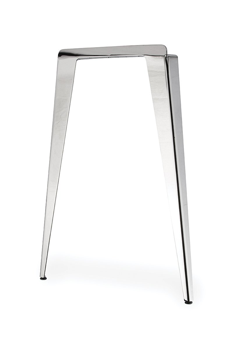 TL40-PSS (Polished Stainless Steel) Mockett Table Leg Metal Furniture Leg Dining Bar Desk Height