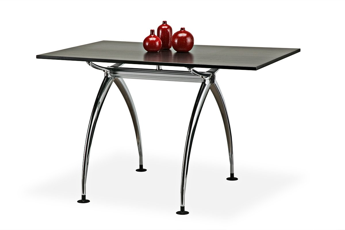 TL48A-100 (Shown with table top - Not included) Mockett Table Leg Metal Furniture Leg Dining Bar Desk Height