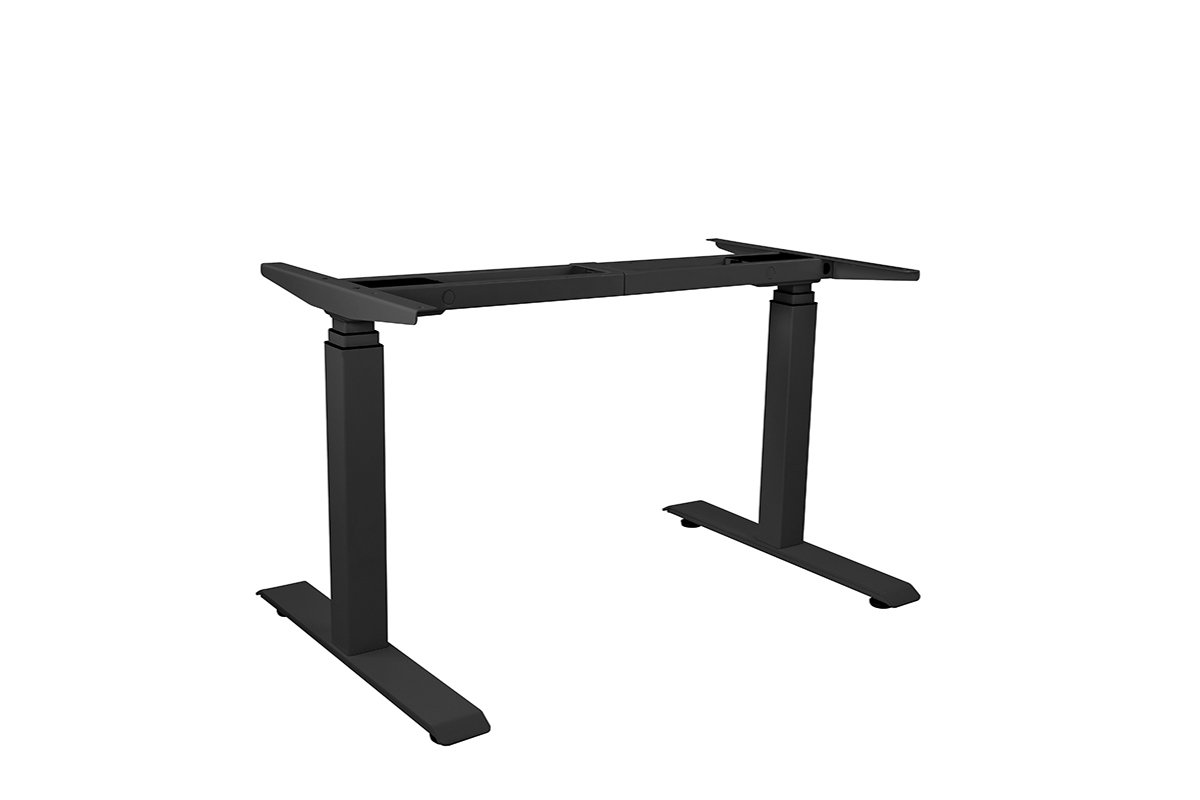 TLEL4-90 (Black) Mockett Adjustable Table Legs Electric Sit Stand Desk
