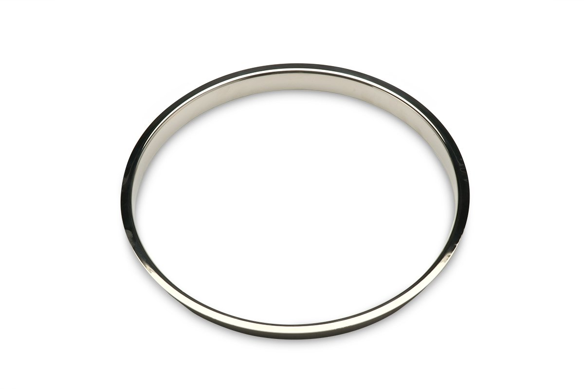 TM12-PSS (Polished Stainless Steel) Mockett Trash Management Grommet Liner