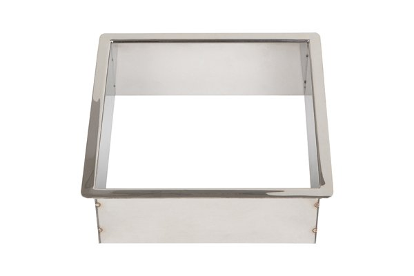 TM2C/SQ-PSS (Polished Stainless Steel) Mockett Trash Management Grommet Liner