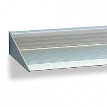 """118-1/8"""" Extruded Aluminum Shelf - LIMITED TO STOCK ON HAND - 50% OFF!"""