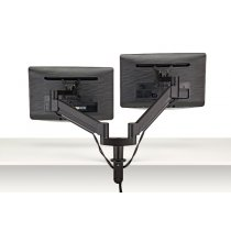 FSA3/2-90 (Matte Black) - Monitors not included Mockett Computer Monitor Stand for Desk Monitor Arm