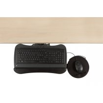 KP7/M2-90 (Black) Mockett Keyboard Tray for Computer Desk