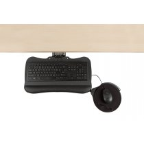 KP8/M2-90 (Black) Mockett Keyboard Tray for Computer Desk