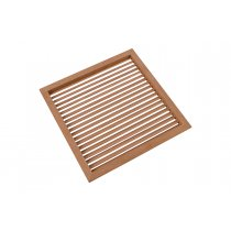"9-15/16"" Square Wood Air Vent Grille - 50% OFF!"
