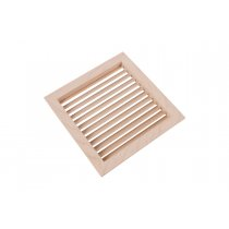 "5-15/16"" Square Wood Air Vent Grille - 50% OFF"