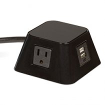PCS66T/2/U1 mockett desktop power grommet outlet usb