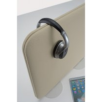 PSCR7-93 (Putty) - In Use (accessories sold separately) Mockett Privacy Panel Divider Acoustic Panel