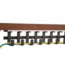 WM27 Mockett Desk Cable Management Spine Wire Manager