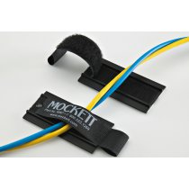 WM7-90 (Black) Mockett Cable Management Velcro Fastener Wire Manager Widget