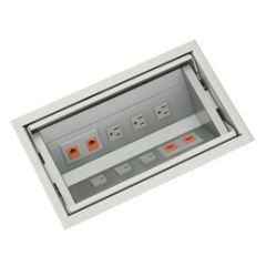 PCS46/ALM-94 mockett desktop power grommet outlet