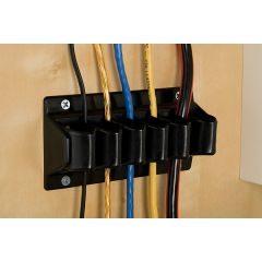 WM23B-90 (Black) Mockett Desk Cable Management Wire Widget