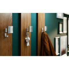 CH53-26D (Satin Chrome) Mockett Coat Hooks Wall Hooks Coat Rack
