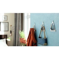 CH59-SSS (Satin Stainless Steel) Mockett Coat Hooks Wall Hooks Coat Rack