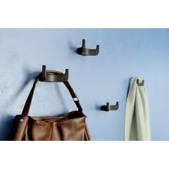CH60-90 (Black) Mockett Coat Hooks Wall Hooks Coat Rack