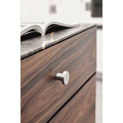 DP242-17S (Satin Nickel) Mockett Drawer Pull Cabinet Hardware Handle
