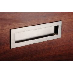 DP138-26M (Matte Chrome) - Mockett Drawer Pull Cabinet Hardware Handle Recessed Pull