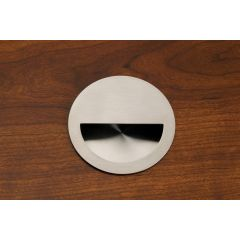 DP154-SSS (Satin Stainless Steel) Mockett Drawer Pull Cabinet Hardware Recessed Handle