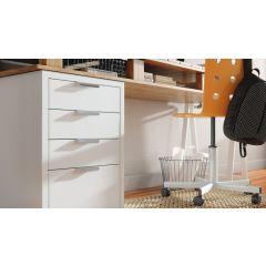 DP157-SSS (Satin Stainless Steel) Mockett Drawer Pull Cabinet Hardware Handle
