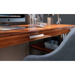 DP227-94 (Satin Aluminum) Mockett Drawer Pull Cabinet Hardware Handle Aluminum