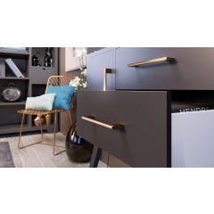 DP268C Mockett Drawer Pull Cabinet Hardware Handle Bar Pull