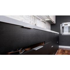 DP3 In Use Mockett Tab Drawer Pull Cabinet Hardware Handle Edge Pull