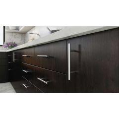 DP56-SSS (Satin Stainless Steel) Mockett Drawer Pull Cabinet Hardware Handle