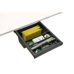 DWR1-90 (Matte Black) Mockett Storage Drawer Organizer for Desk