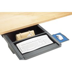 DWR2-90 (Matte Black) Mockett Storage Drawer Organizer for Desk