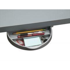DWR5A-23 (Metallic Silver) Mockett Storage Drawer Organizer for Desk