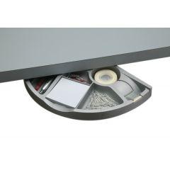 DWR5B-23 (Metallic Silver) Mockett Storage Drawer Organizer for Desk