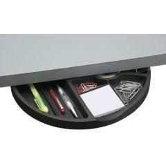 DWR5B-90 (Matte Black) Mockett Storage Drawer Organizer for Desk