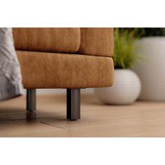 FL23-90 (Black) Mockett Furniture Legs Table Legs Furniture Feet Sofa Legs