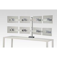FSA7 Mockett Computer Monitor Stand for Desk Monitor Arm