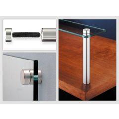 Mockett Glass Standoffs Panel Hardware