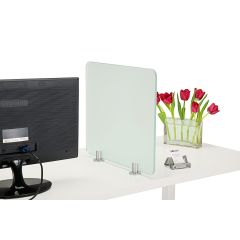 PGRP3-94 (shown in use) Mockett Privacy Panel Grip Panel Bracket Divider