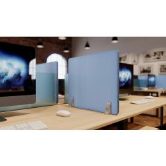 PSCR8-62J (Denim) Mockett Privacy Panel Divider Acoustic Panel