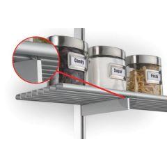 SH16-TRC-94 (Satin Aluminum) Mockett Shelves Shelf Brackets Decorative Shelf Supports