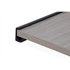 SH55B-90 (Matte Black) Mockett Shelves Shelf Brackets Decorative Shelf Supports