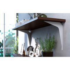 SWS4B-92 (Grey) Mockett Shelves Shelf Brackets Decorative Shelf Supports Countertop Supports