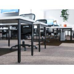TL37B-90 Mockett Table Leg Metal Furniture Leg Dining Bar Desk Height