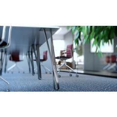 TL47A-SSS (Satin Stainless Steel) Mockett Table Leg Metal Furniture Leg Hairpin Leg Dining Bar Desk Height