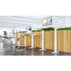 TLEL3 Mockett Adjustable Table Legs Electric Sit Stand Desk