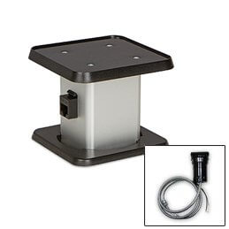 Pop Up Tamper Resistant Convenience Outlet Without Lid - 1 Data, 1 Electric (Hardwire Version)