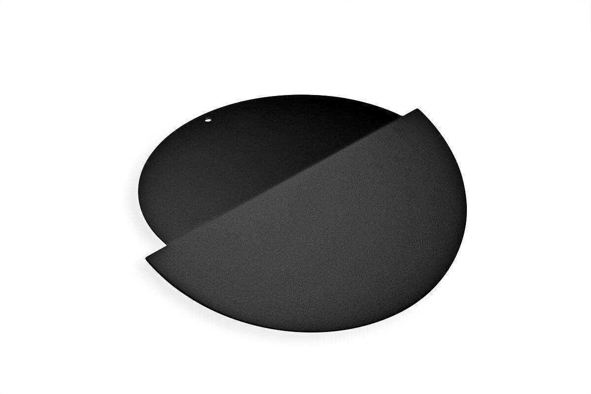 TMLID1-90 (Matte Black) Mockett Trash Management Grommet Lid