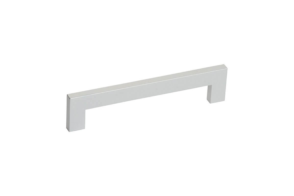 DP120A-94 (Satin Aluminum) Mockett Drawer Pull Cabinet Hardware Handle