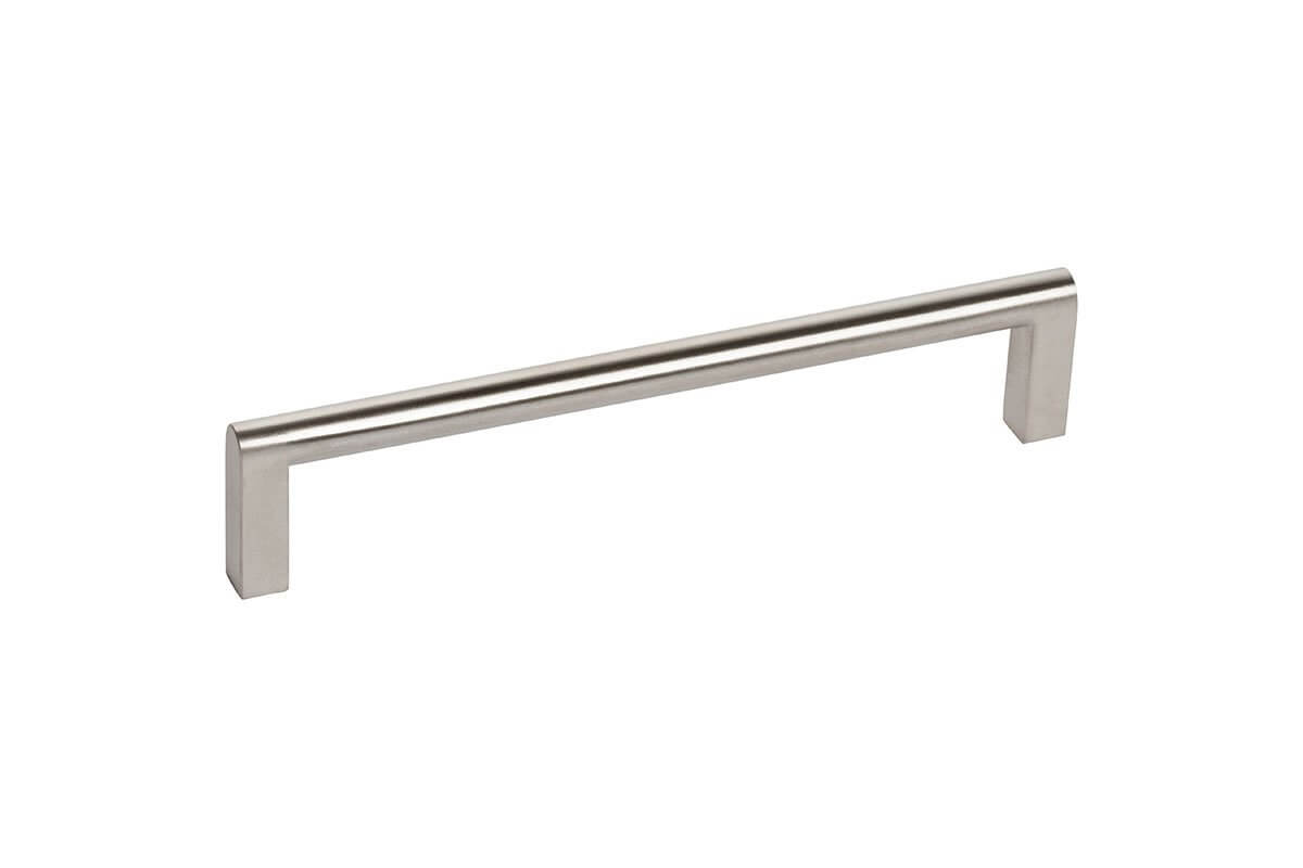 DP128-SSS (Satin Stainless) Mockett Drawer Pull Cabinet Hardware Handle